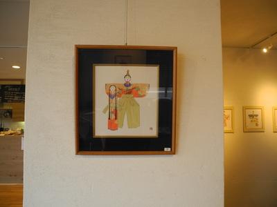2/17(水)-3/3(木) 山田雅堂(達男)「立雛十四趣色紙展」を開催します。
