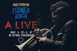 5/31(火)まで TSUNEO KOGA 写真展「A LIVE」 OTOGIにて