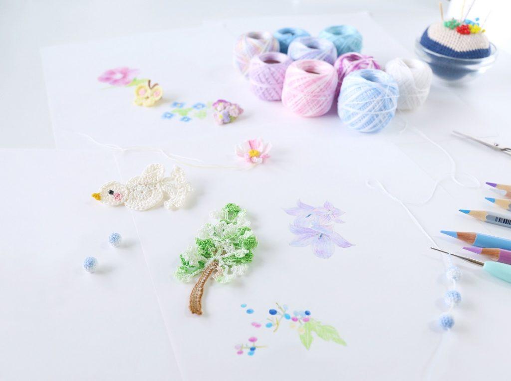 【終了】11/14(火)-11/18(日)糸編み作家・ 浜地彰子展覧会「あおいろ。の世界」